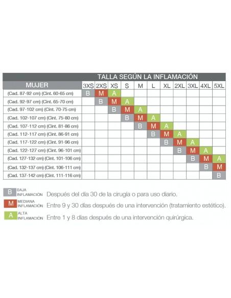 Faja Ultra realce strapless reductora de abdomen y moldea de gluteos-REF 11210
